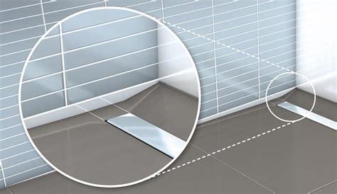 Bodenebene Dusche Gefälle by Wedi Gef 228 Lleprofil Erleichtert Wandanschluss Bodengleicher
