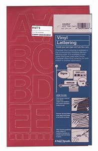 buy vinyl 2 inch capital letters red With red vinyl letters