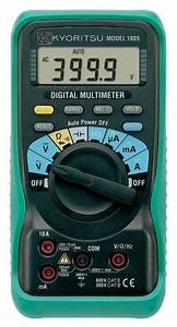Kyoritsu 1009 Auto Range Digital Multimeter  600v Ac  Dc