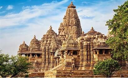 Khajuraho India Temples Indian Historical Madhya Heritage