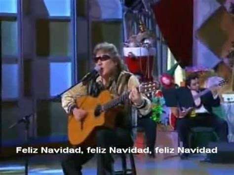 jose feliciano feliz navidad lyrics youtube feliz navidad jose feliciano con letra lyrics video