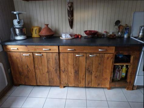meuble de cuisine cuisine bois fabriquer un meuble de cuisine en bois