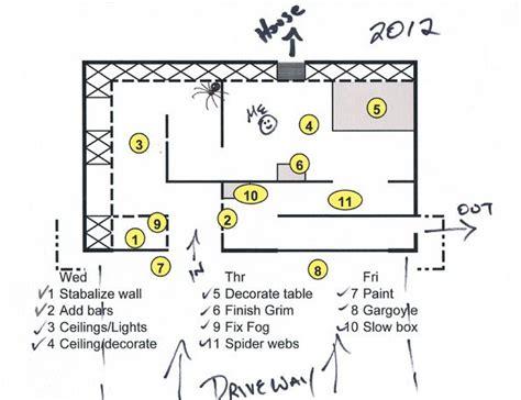 haunted garage ideas  pinterest halloween