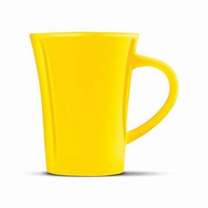 Mug Coffee Clipart Tulip Clip Cliparts Yellow