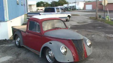volkswagen bug truck rat rod custom vw beetle pick up truck doovi