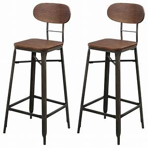 Tabouret De Bar But : tabouret de bar woody lot de 2 achetez les tabourets de bar woody lot de 2 rdv d co ~ Teatrodelosmanantiales.com Idées de Décoration