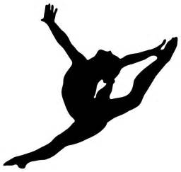 gymnastics cake toppers gymnastics silhouettes transparent cliparts co