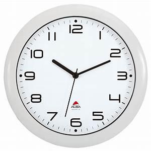 Horloge Murale Silencieuse : horloge murale alba hornew silencieuse mouvement quartz ~ Melissatoandfro.com Idées de Décoration