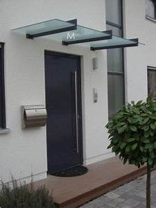 Vordach Haustür Glas : edelstahl vordach im bauhausstil haus vordach vordach haust r und haus ~ Orissabook.com Haus und Dekorationen