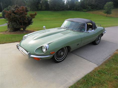 E Type Jaguars For Sale by 1971 Jaguar E Type Xke Convertible Series 2 For Sale