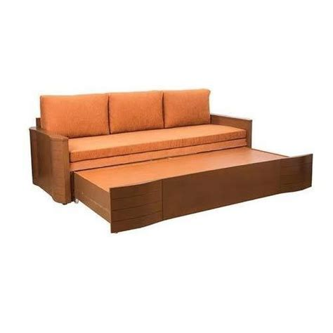 wooden sofa bed rs piece sofa cum bed