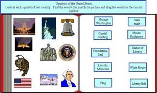 Kindergarten American Symbols
