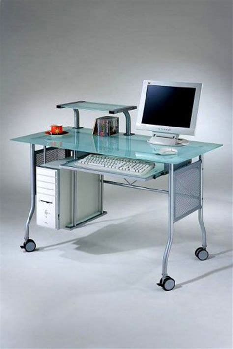 18 Sleek Acrylic Computer Desk Designs For Small Home Office