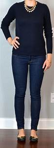 Outfit Posts outfit post navy sweater skinny rockstar ...