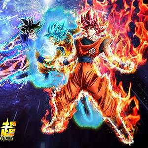 Badass Goku Evolution - God , Blue, Ultra Instinct ...