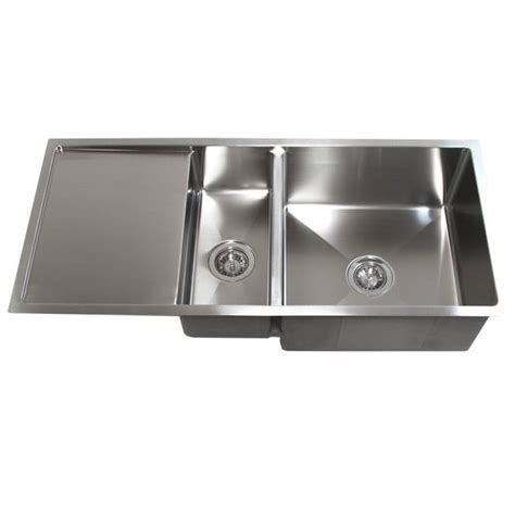 undermount kitchen sinks with drainboards 42 inch stainless steel undermount bowl kitchen