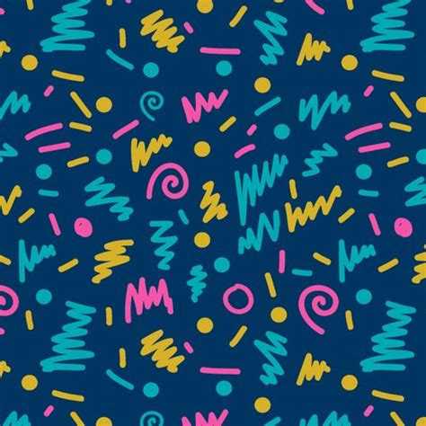 90s colors 80s shapes rad edgy cool colors 90s fabric