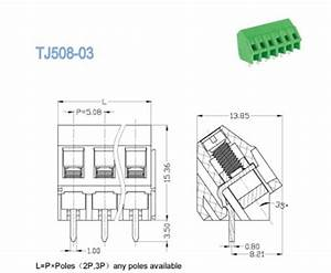 508mm wire connector pcb terminal block for electric lighting With model railroad wiring terminal blocks