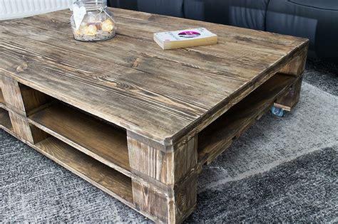 ᐅ Tisch Aus Europaletten  Palettentisch 120x80 Vintage