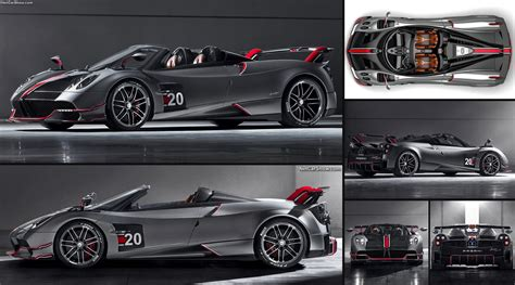 pagani huayra roadster bc  pictures information