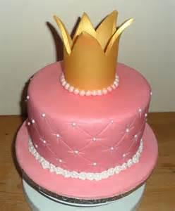 Cake with Princess Crown