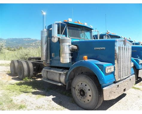 2001 kenworth for sale 2001 kenworth w900 day cab truck for sale 1 070 000 miles