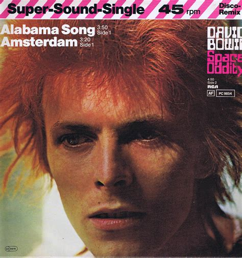 David Bowie Of Amsterdam by David Bowie Alabama Song Amsterdam Space Oddity 12