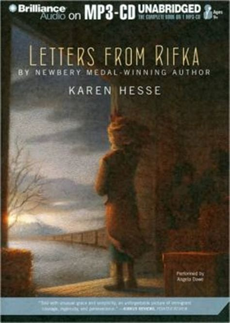 letters from rifka letters from rifka by hesse 9781441818133