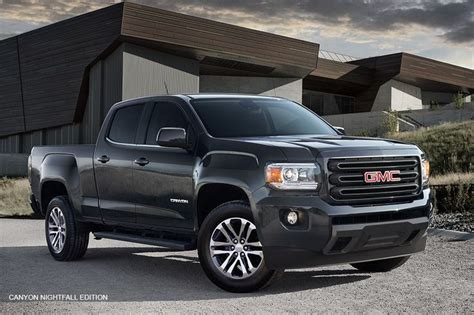 The 2016 Gmc Canyon Nightfall Edition Mid-size Pickup