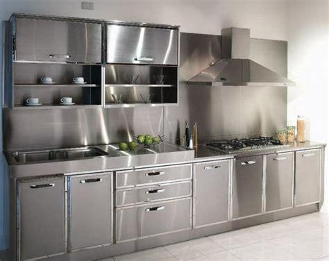Küche Edelstahl edelstahl k 252 che 58 elegante beispiele archzine net