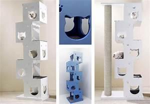 Arbre A Chat Moderne : shopping pour chat ~ Melissatoandfro.com Idées de Décoration