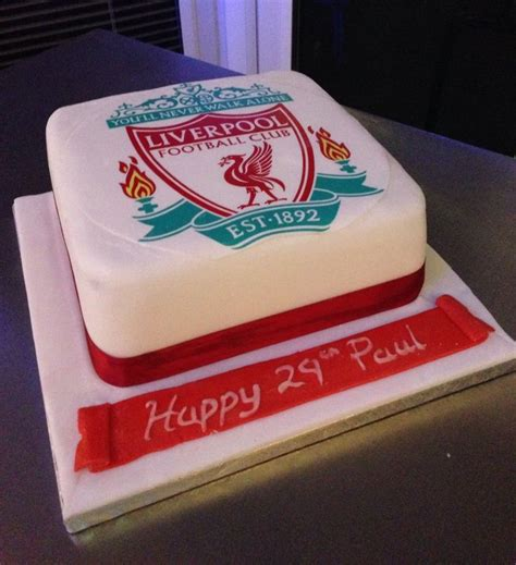 21 Best Images About Liverpool Fc Groom's Cakes On
