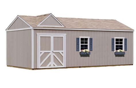 12 X 20 Wooden Storage Shed by Februari 2017 Tuff Shed At Home Depot