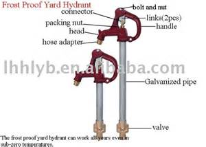 frost proof yard hydrant anti freeze faucet buy anti