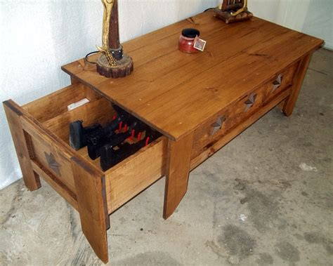 Hidden Compartment Coffee Table Ideas