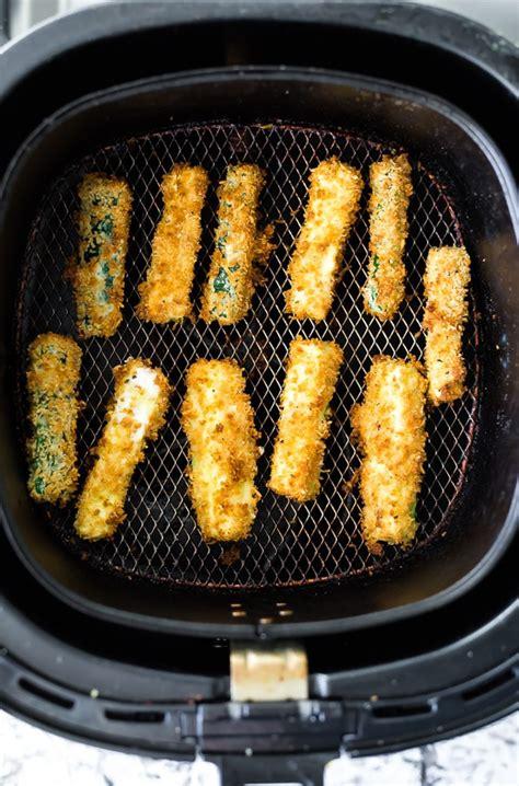 fryer air zucchini fries recipes recipe oven sweetpeasandsaffron fry parmesan basket frying food potatoes panko space need crispy