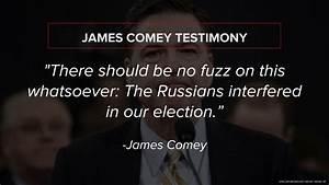 Former FBI Director James Comey: Trump administration ...