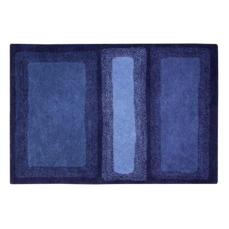 lorena canals tapis bleu electrique coton    cm water