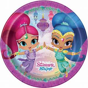 Shimmer and Shine Cake Plates Shimmer and Shine Party