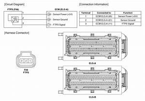 Hyundai Azera  Fuel Tank Pressure Sensor  Ftps  Schematic Diagrams