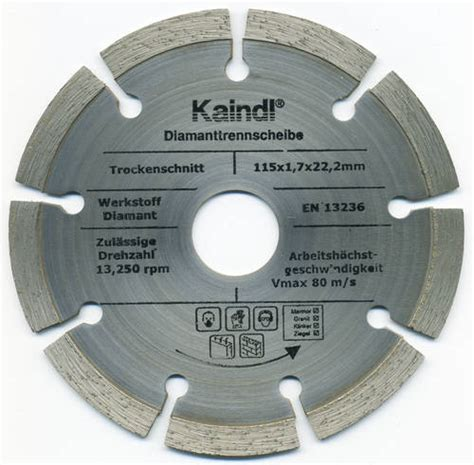 kaindl multi saw blade for angle grinders