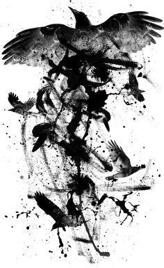 76 Best Celtic raven tattoo images | Raven tattoo, Raven, Raven art