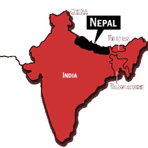 info ou se trouve le nepal