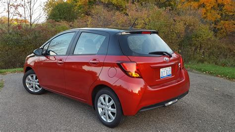 Toyota Yaris Backgrounds by 2016 Toyota Yaris Le Road Test Review By Carl Malek
