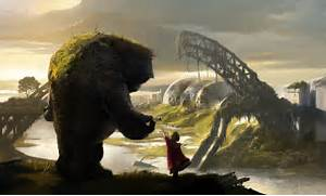 The Gentle Giant - Digital paintings, Fantasy, Scenery/Landscapes ...