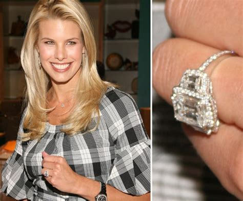 beth ostrosky celebrity engagement ring pictures