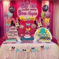 Minnie Mouse Bowtique Birthday Party Ideas