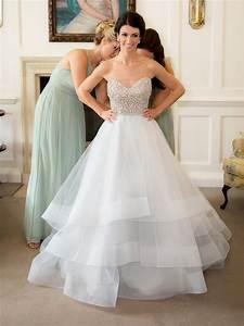 25 Princess Wedding Gowns With Beading Crystals And
