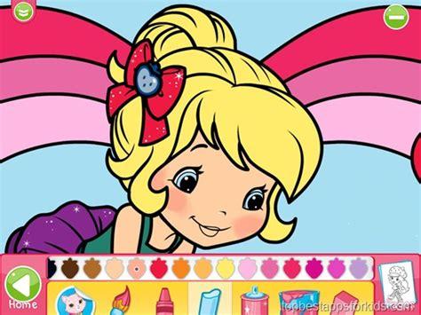 strawberry shortcake jumbo coloring book ipad iphone