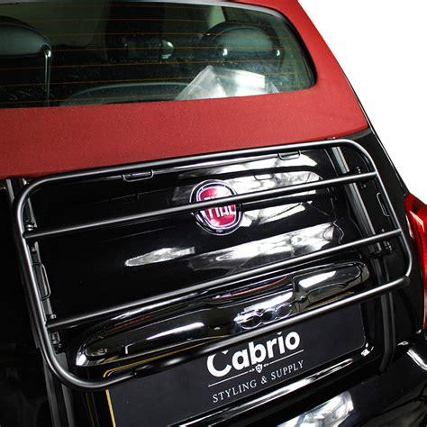 fiat  luggage rack edizione nero  present cabrio supply